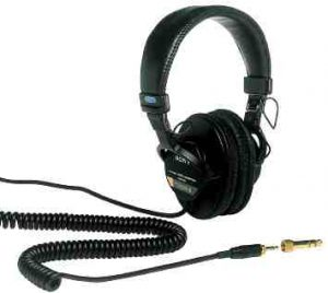 Sony MDR7506 Professional Large Diaphragm Headphones