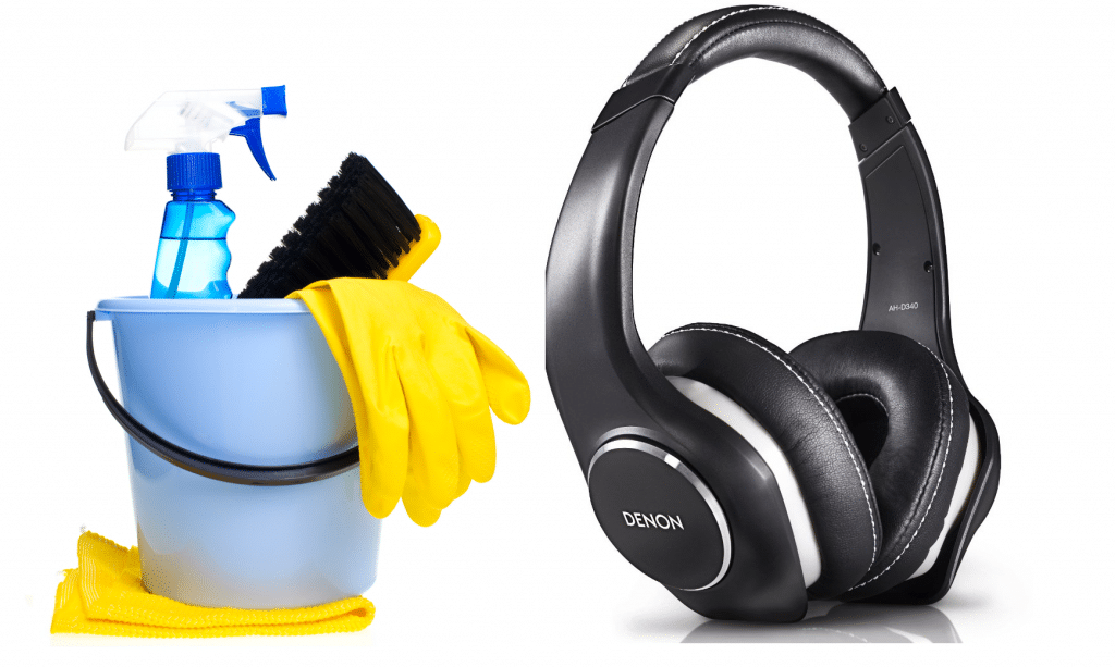 How to clean your headphones - a step by step guide