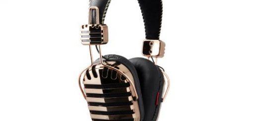 I-mego gold headphones