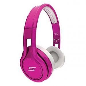 Pink Headphones and Earphones