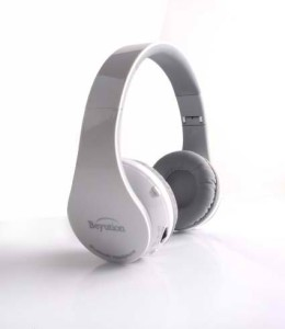New Beyution 512 White Bluetooth V3.0 headphones