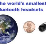 The Smallest Bluetooth Headsets in the World In 2020!