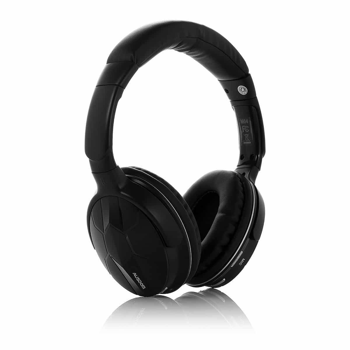 ausdom m04 bluetooth headphones review. Black Bedroom Furniture Sets. Home Design Ideas