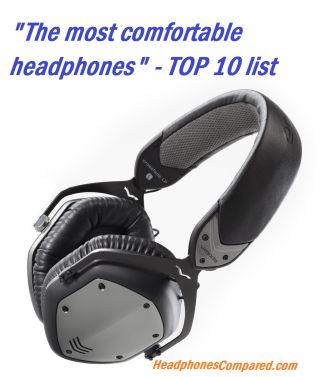 The most comfortable headphones v1