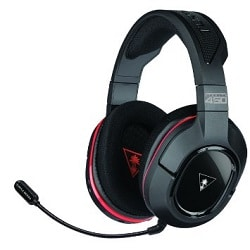 Ear Force Stealth 450 Fully Wireless with DTS Headphone: X 7.1 Surround Sound PC Gaming Headset
