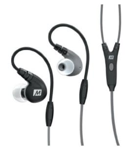 MEE Audio M7P Secure-Fit Sports In-Ear Headphones With Mic