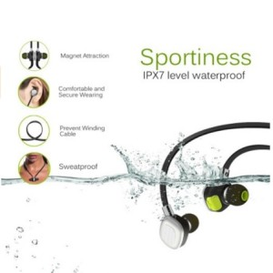 PLAY X STORE Stereo Wireless Bluetooth Sports Earbuds In-Ear
