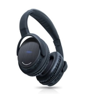 Photive BTH3 Over-The-Ear Wireless Bluetooth Headphones with Built-in Mic