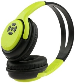 Rebelite Blu Audio Bluetooth Wireless Headphones w/ Powerful Sound