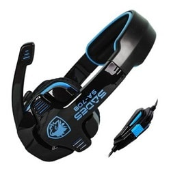 Sades® SA-708 Professional Gaming Stereo Headset
