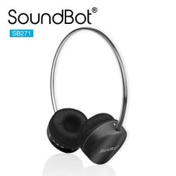 SoundBot® SB271 Stereo Bluetooth Wireless Headphones