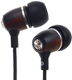 Symphonized NRG Premium Genuine Wood In-Ear Noise-Isolating Headphones