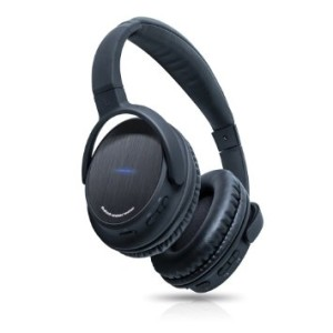 Photive BTH3 Over-The-Ear Wireless Bluetooth Headphones with Built-in Mic and 12 Hour Battery