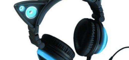 Cat ear headphones v1