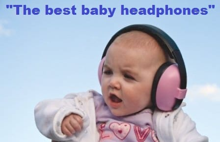 baby headphones & noise cancelling headphones for kids v1
