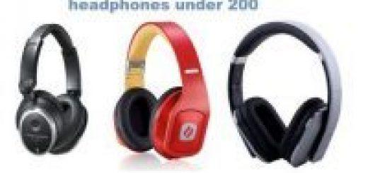 best noise cancelling headphones under 200