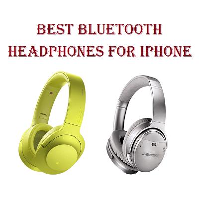 Best Bluetooth Headphones for iPhone
