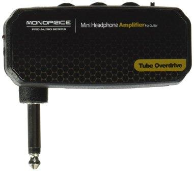Monoprice 611502 Mini Headphone Amplifier for Guitar