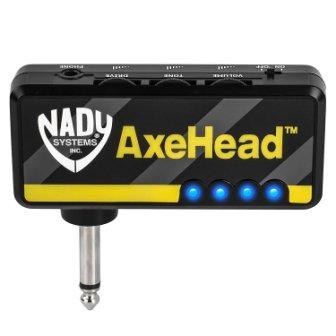 Nady AxeHead Miniature Headphone Guitar Amplifier