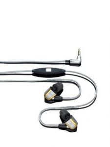 Ultrasone IQ 2-Way High Performance In Ear Headphones with Microphone