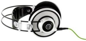 AKG K701 Open-Back Reference Class Stereo Headphones with Varimotion and FlatWire Voice Coil Technology