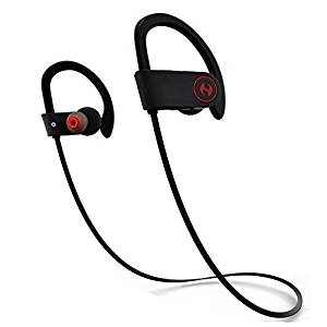 Hussar Magicbuds Best Wireless Sports Earphones with Mic, IPX7 Waterproof, 2018 Edition