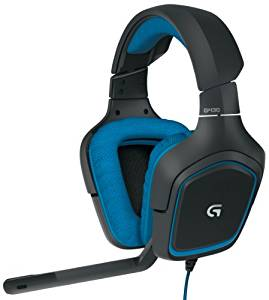 Logitech G430 7.1 DTS Headphone: X and Dolby Surround Sound Gaming Headset