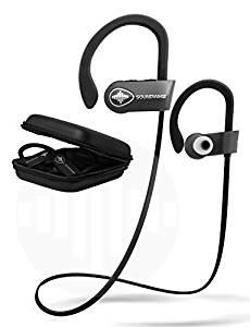 SoundWhiz Noise Cancelling Waterproof Workout Earbuds – w Mic & Siri