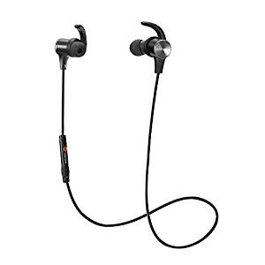 TaoTronics Wireless 4.2 Magnetic Earbuds, Snug Fit for Sports with Built in Mic TT-BH07