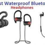 Top 15 Best Waterproof Bluetooth Headphones in 2020