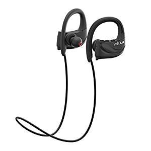 Vislla Bluetooth Headphones IPX7 Waterproof Wireless Sports Earphones