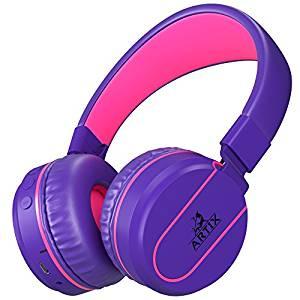 Artix Bluetooth Wireless Headphones – Purple