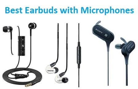 Top 15 Best Earbuds With Microphone In 2020 Ultimate Guide