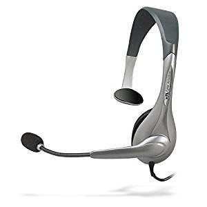 Cyber Acoustics Mono USB Headset AC-840