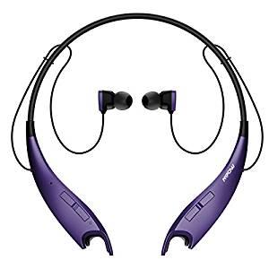 Mpow Jaws V4.1 Bluetooth Headphones – Purple