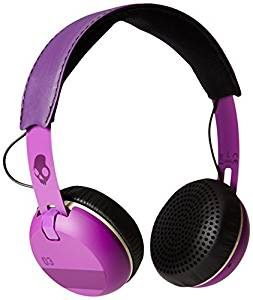 Skullcandy S5GRHT-468 Grind On-Ear Headphones, ILL Famed Purple