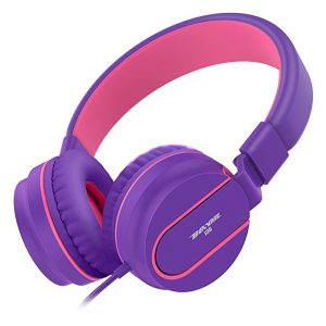 Teens Besom i36 headphones – Purple Pink
