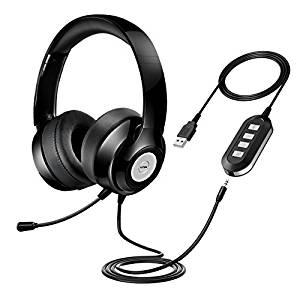 VTIN OMorc USB On-Ear Wired Headset