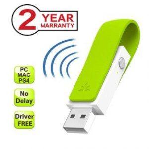 Avantree LONG RANGE Bluetooth USB Adapter for Headphones, Speakers