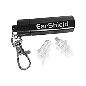 EARSHIELD INVISIBLE HYPOALLERGENIC EARPLUGS WITH 27db