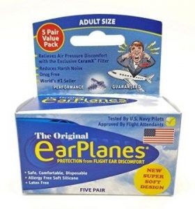 New Super Soft Adult Ear Planes Ear Plugs Airplane Travel Ear Protection