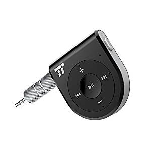 TaoTronics Bluetooth Receiver, Better Talking Experience with Two Microphones