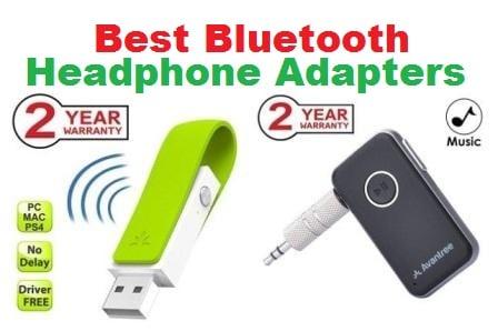 Top 15 Best Bluetooth headphone adapters in 2018