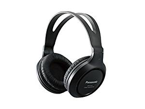 Panasonic RP-HT161-K Full-Sized Lightweight Long-Cord Headphones