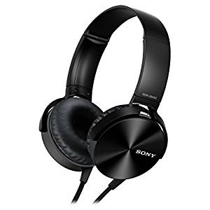 Sony MDR-XB450AP Extra Bass Headphone - Black