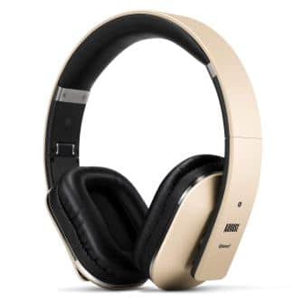 August Over Ear Bluetooth Wireless Headphones