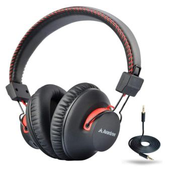 Avantree Audition 40 hr WirelessWired Bluetooth 4.0 Over Ear Headphones with Mic
