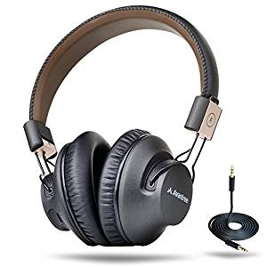 Avantree Audition Pro AptX LL 40 hr Bluetooth 4.1 Over-the-Ear Foldable Headphones