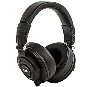 LyxPro HAS-30 Closed Back Over-Ear Professional Recording Headphones