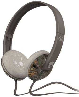 Skullcandy Unisex Uprock Real Tree Headphones